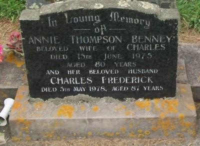 Picture of Taruheru cemetery, block 40, plot 174.