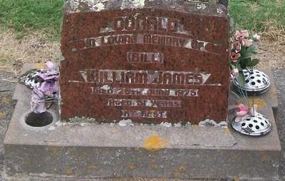 Picture of Taruheru cemetery, block 40, plot 182.