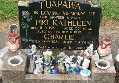 Picture of Taruheru cemetery, block 40, plot 201.