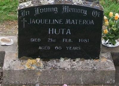 Picture of Taruheru cemetery, block 40, plot 203.