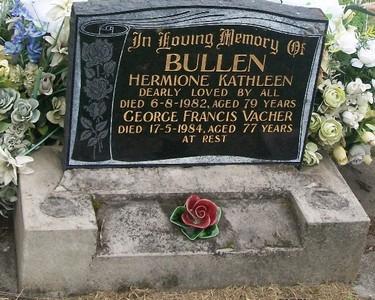 Picture of Taruheru cemetery, block 40, plot 214.
