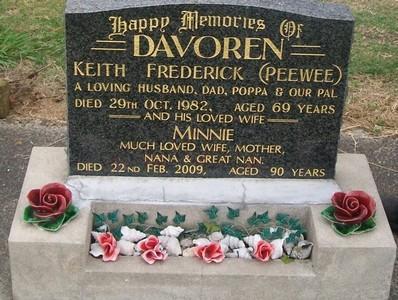 Picture of Taruheru cemetery, block 40, plot 242.