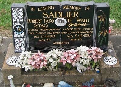 Picture of Taruheru cemetery, block 40, plot 314.