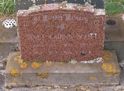 Picture of Taruheru cemetery, block 40, plot 38.