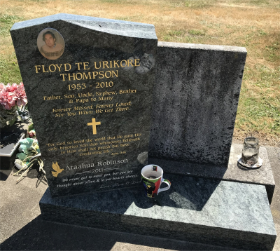 Picture of Taruheru cemetery, block 40, plot 451.