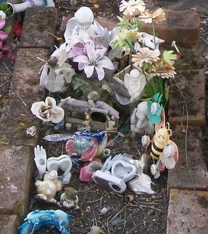 Picture of Taruheru cemetery, block 40, plot 529B.