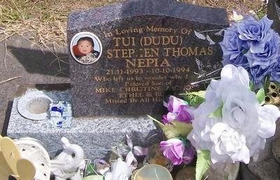 Picture of Taruheru cemetery, block 40, plot 544B.