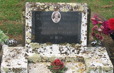 Picture of Taruheru cemetery, block 40, plot 57.