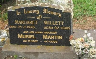 Picture of Taruheru cemetery, block 40, plot 62.