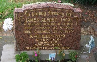 Picture of Taruheru cemetery, block 40, plot 63.