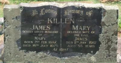 Picture of Taruheru cemetery, block 40, plot 67.