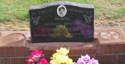 Picture of Taruheru cemetery, block 40, plot 82.