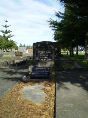 Picture of Taruheru cemetery, block 4, plot 1.