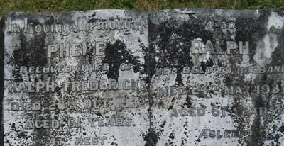 Picture of Taruheru cemetery, block 4, plot 36.
