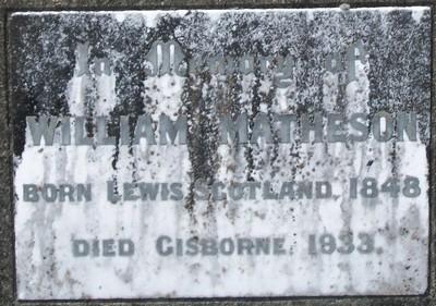 Picture of Taruheru cemetery, block 5, plot 88.