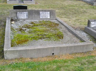 Picture of Taruheru cemetery, block 6, plot 42.