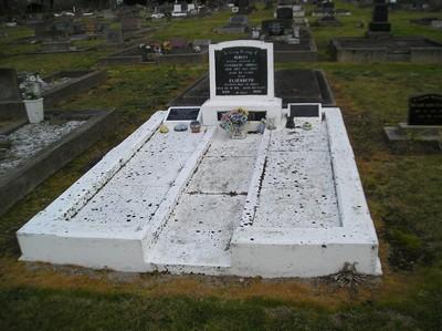 Picture of Taruheru cemetery, block 6, plot 61.