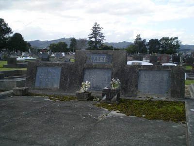 Picture of Taruheru cemetery, block 7, plot 105.