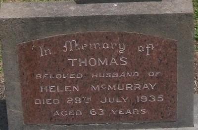 Picture of Taruheru cemetery, block 7, plot 68.