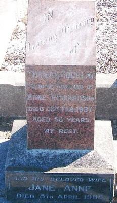 Picture of Taruheru cemetery, block 8, plot 41.