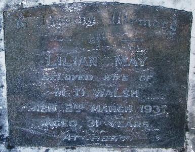 Picture of Taruheru cemetery, block 8, plot 41A.