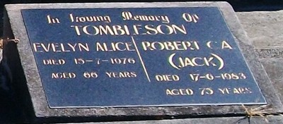 Picture of Taruheru cemetery, block 8, plot 7D.