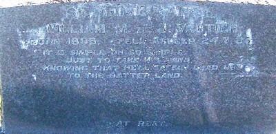Picture of Taruheru cemetery, block 8, plot 8.