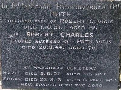 Picture of Taruheru cemetery, block 9, plot 58.