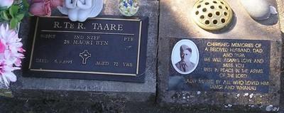 Picture of Taruheru cemetery, block RSA34, plot 415.