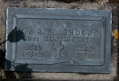 Picture of Taruheru cemetery, block RSA, plot 121.