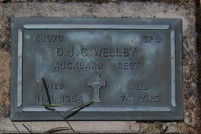 Picture of Taruheru cemetery, block RSA, plot 123.