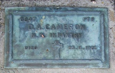 Picture of Taruheru cemetery, block RSA, plot 140.