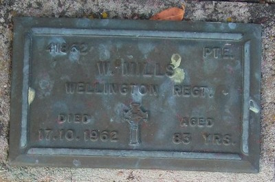Picture of Taruheru cemetery, block RSA, plot 157.