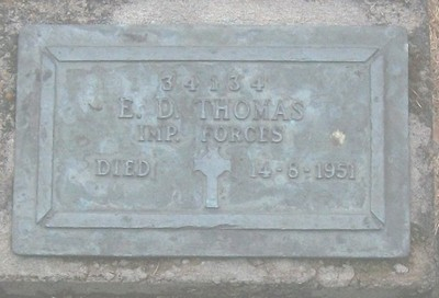 Picture of Taruheru cemetery, block RSA, plot 18.