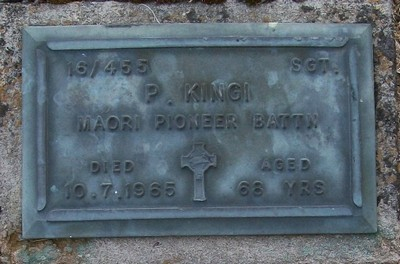 Picture of Taruheru cemetery, block RSA, plot 266.