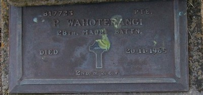 Picture of Taruheru cemetery, block RSA, plot 273.