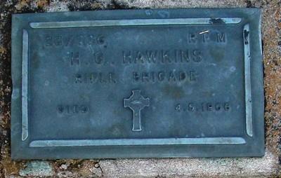 Picture of Taruheru cemetery, block RSA, plot 321.