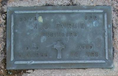 Picture of Taruheru cemetery, block RSA, plot 334.