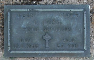Picture of Taruheru cemetery, block RSA, plot 335.