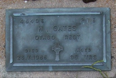 Picture of Taruheru cemetery, block RSA, plot 343.