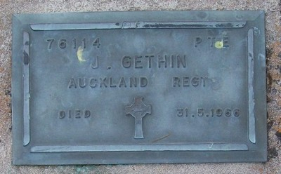Picture of Taruheru cemetery, block RSA, plot 346.