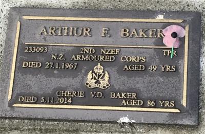 Picture of Taruheru cemetery, block RSA, plot 403.