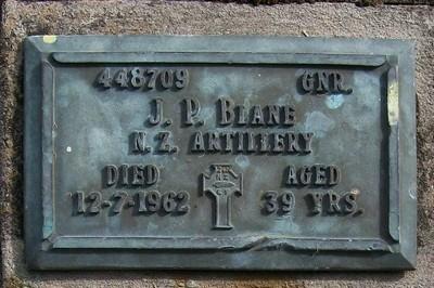 Picture of Taruheru cemetery, block RSA, plot 43.