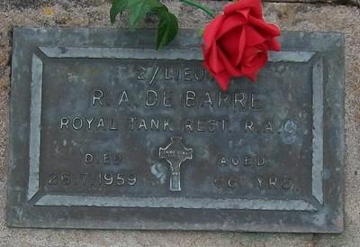 Picture of Taruheru cemetery, block RSA, plot 448.