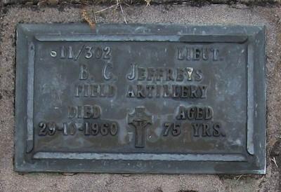Picture of Taruheru cemetery, block RSA, plot 526.