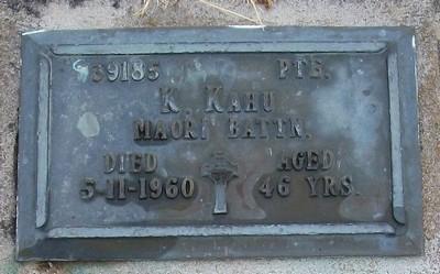Picture of Taruheru cemetery, block RSA, plot 530.