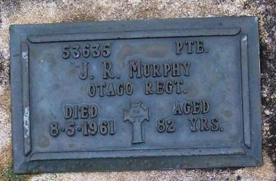 Picture of Taruheru cemetery, block RSA, plot 542.