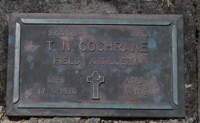 Picture of Taruheru cemetery, block RSA, plot 582.