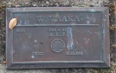 Picture of Taruheru cemetery, block RSA, plot 59.