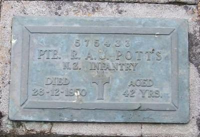 Picture of Taruheru cemetery, block RSA, plot 6.